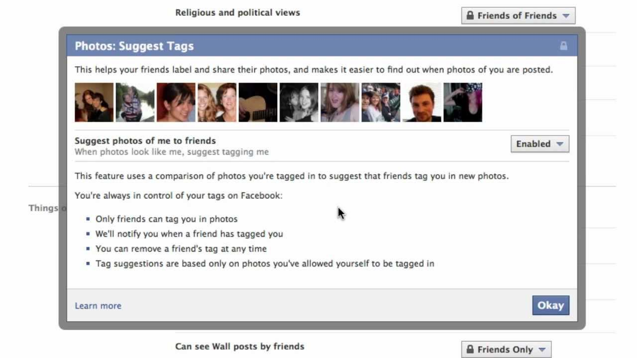 How To Stop Facebook From Suggesting Photo Tags To Friends