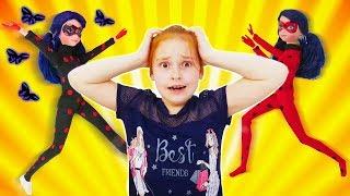 Леди Баг: в Маринетт вселилась акума. Кто поможет? Видео для девочек.