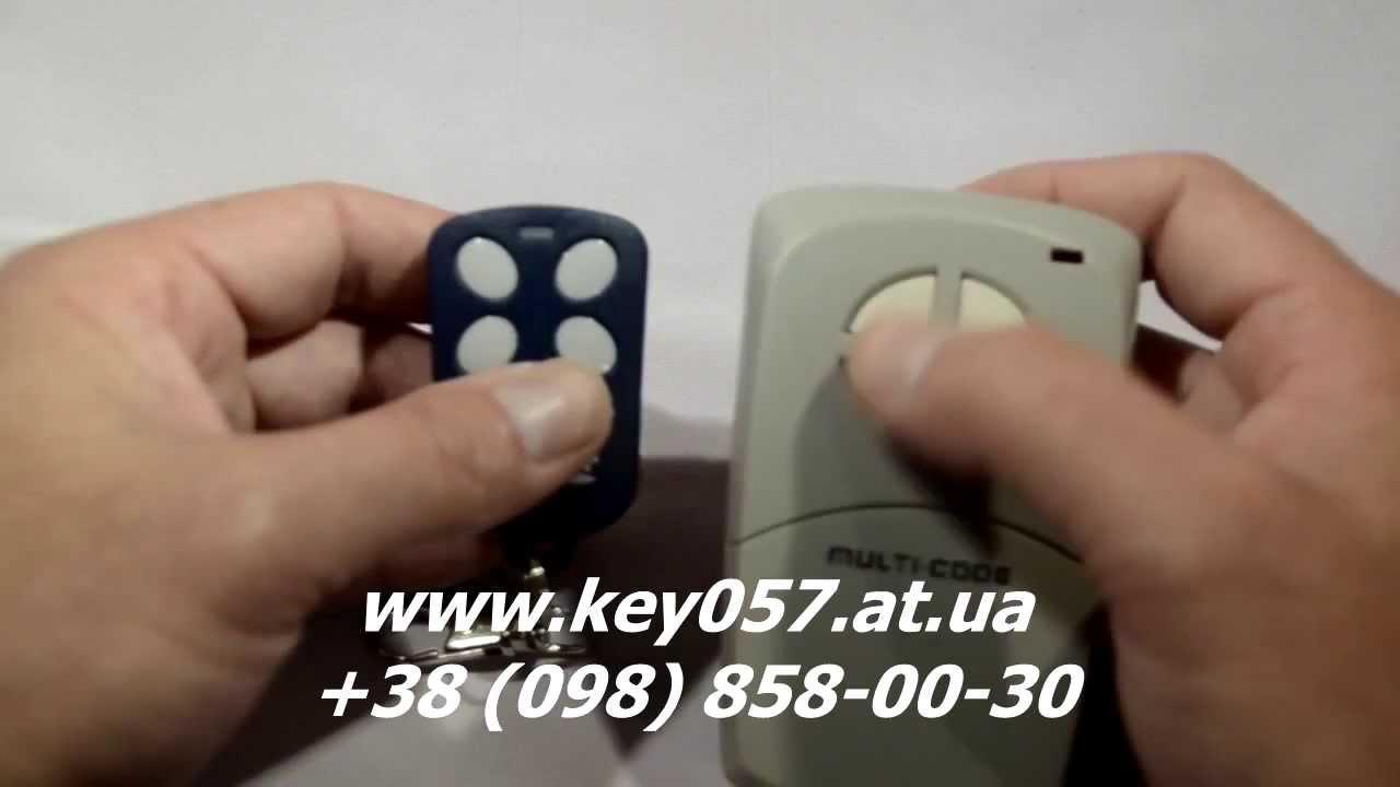 Тестируем граббер (код-граббер/ универсальный пульт для шлагбаумов .