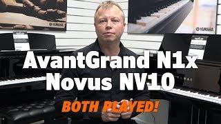 Yamaha Avantgrand N1x vs Kawai Novus NV10   Both Played