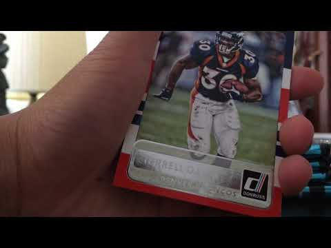 Donruss blaster football cards 2015 not bad nice numbered cards enjoy 😏