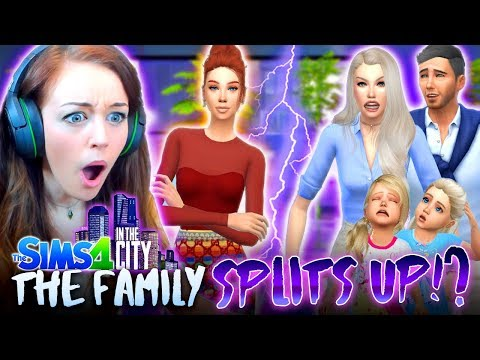 😱⚡️THE FAMILY ARE SPLITTING UP!?⚡️😱 (The Sims 4 IN THE CITY #40!💒)