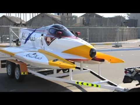 F1 H2O GP OF ABU DHABI: paddock