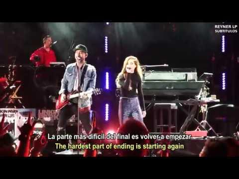 Linkin Park - Waiting for the End (Sub español) @ Hollywood Bowl (feat. Sydney Sierota)