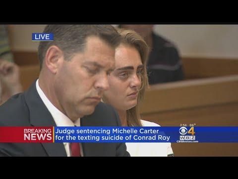 Full Hearing: Michelle Carter Sentenced To 2.5 Years