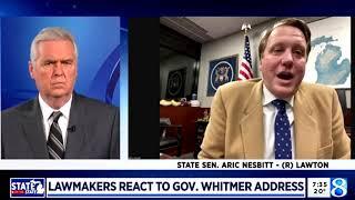 Sen. Nesbitt joins WOOD TV to discuss 2021 State of the State address