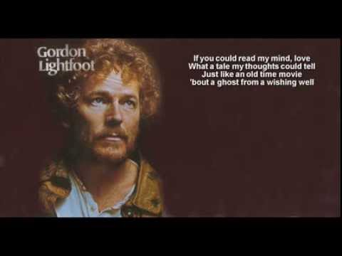 Gordon Lightfoot + If You Could Read My Mind + HQ