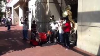 The Verizon Center street band