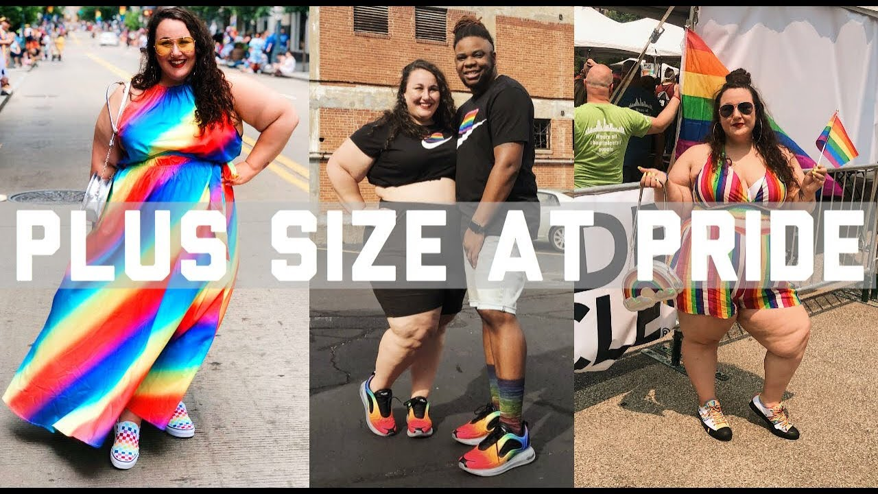 Rainbow Plus Size Clothing and Shoes to Wear to Pride | TRY ON HAUL