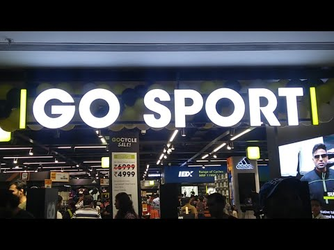 Decathlon Competitor arrives in Bangalore l Go Sport's Second Store in India