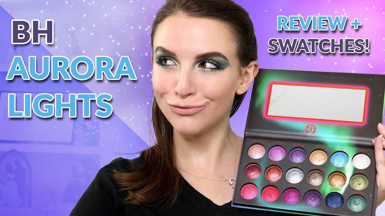 Bh Cosmetics Aurora Lights Swatches