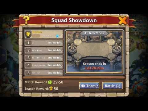 Castle Clash Squad Showdown Haven't Lost Yet So Enjoy!