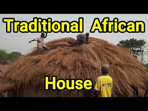 Le Fouta Djallon Et Ses Merveilles-Merveilles Africaines-Traditional African House-This is Africa