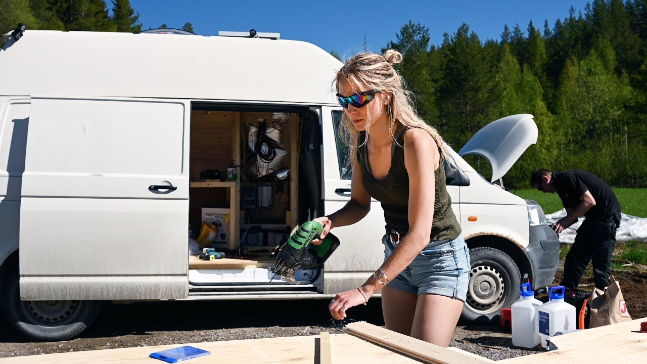 Building my CamperVan + Life, love and loss | Ep. 54