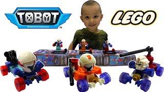 Тоботы Трансформеры роботы машинки игрушки минифигурки Лего Tobot X Y Z transformers Robot car toys