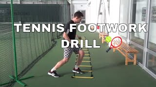 Tennis Fitness - Ladder Drills For Improving Footwork