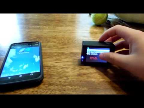 How To Setup A SPORTS HD DV With Phone (Android)