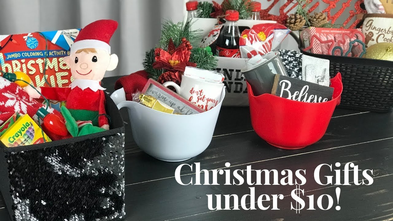 Dollar Tree 10 Gift Ideas For Under 10 Youtube
