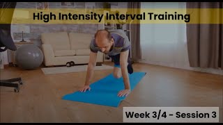 HIIT -Week 3/4 session 3 (Control)