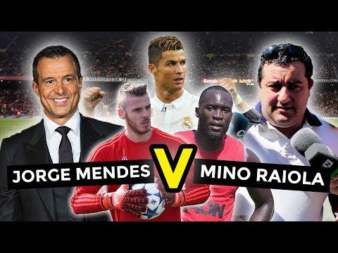 Battle Of The Super-Agents | Jorge Mendes XI V Mino Raiola XI