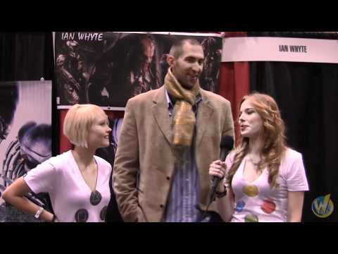 Toronto Comic Con 2011  Meet Ian Whyte