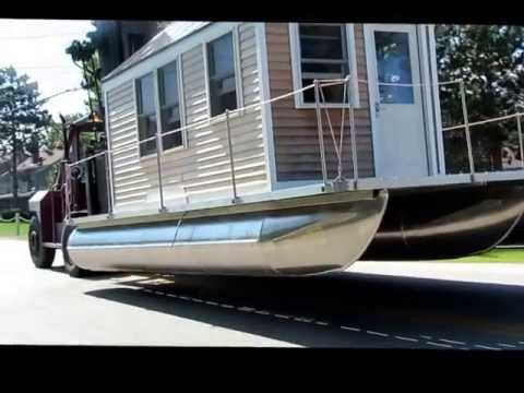 The Tiny Houseboat Moves From Land To Water A Documentary
