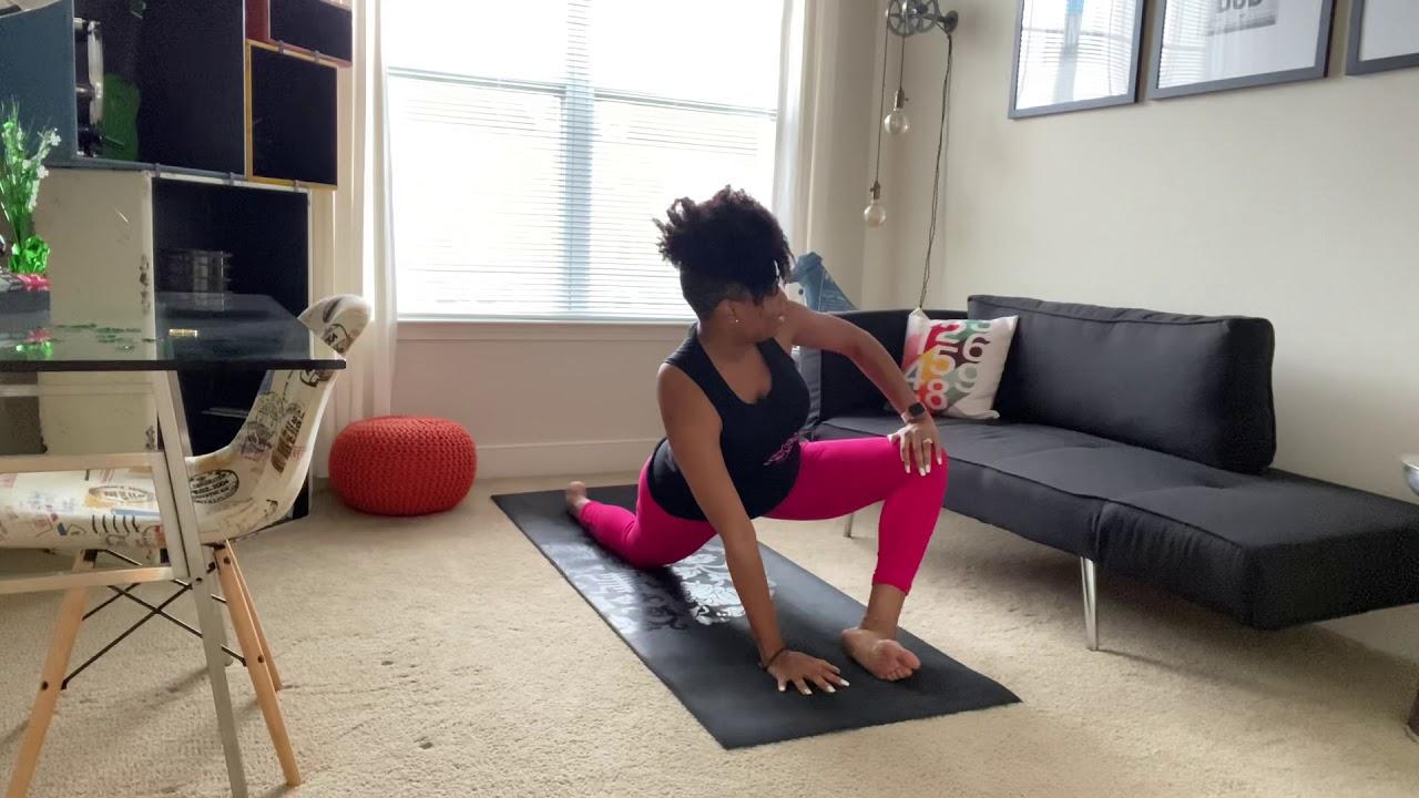 Yoga @ Home with Khalilah