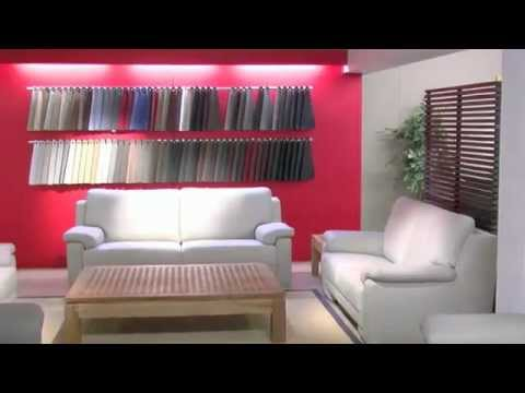 Sofaplus lederen stoffen sofa 39 s youtube - Lederen sofa zitter ...