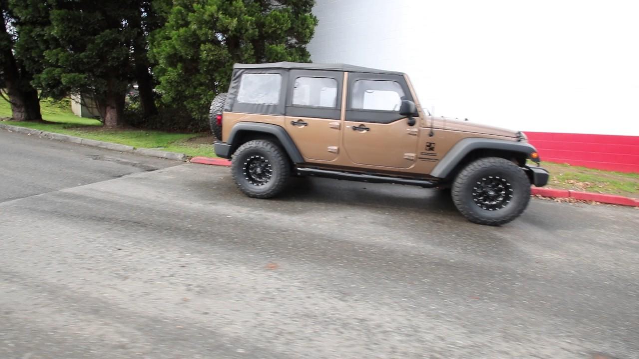 2015 Jeep Wrangler Unlimited Sport | Copper Brown ... - photo#46