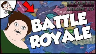 Hearts of Iron 4 HOI4 Battle Royale Germany Against The World Challenge