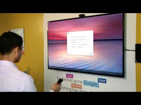 Chromebox for meetings: Setup