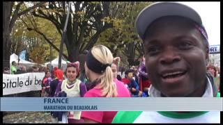 Sports : déroulement de la 13ème édition du marathon international du Beaujolais