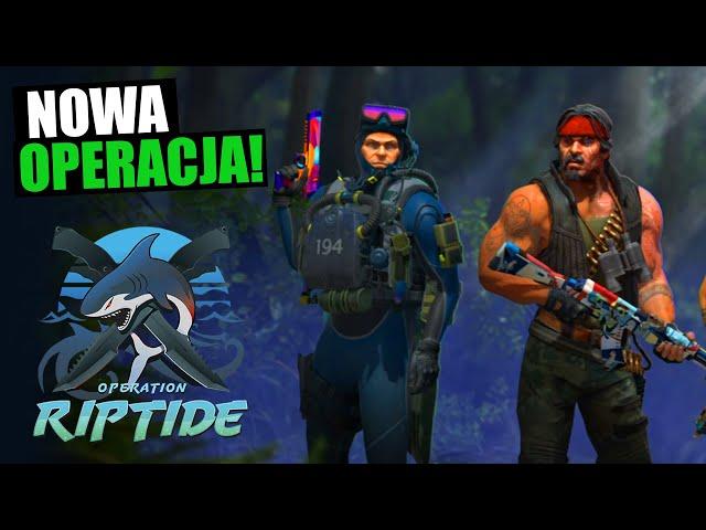 WIELKI UPDATE CS:GO - Operacja Riptide