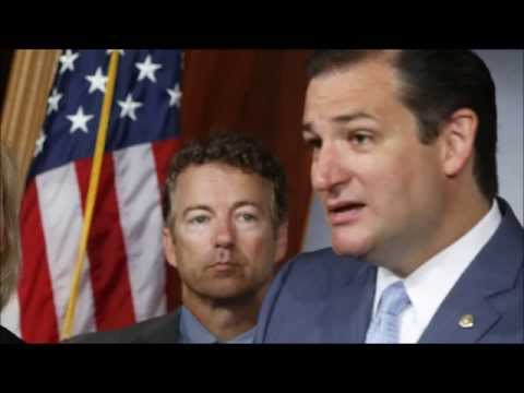 Ted Cruz Stands With Rand Paul (2016!)
