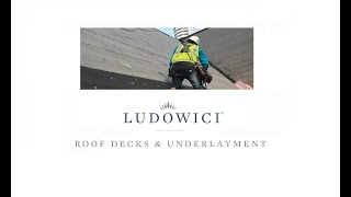 Roof Decks and Underlayment