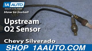 How To Install Replace Upstream O2 Sensor Chevy S10 Blazer GMC Jimmy 4.3L