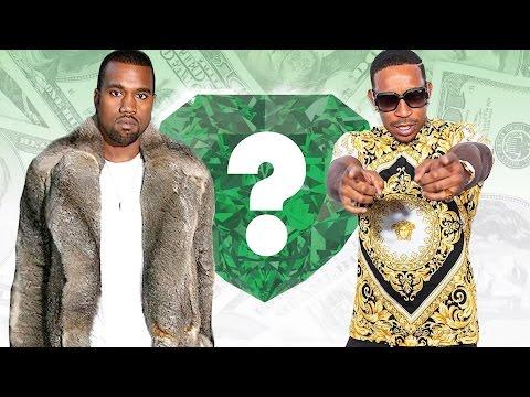 WHO'S RICHER? - Kanye West or Ludacris? - Net Worth Revealed!