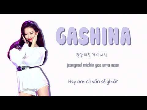 [VIETSUB] SUNMI (선미) - GASHINA (가시나)  Color coded lyrics [VIET-ROM-ENG]