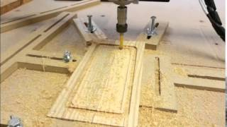 Shapeoko 2 Small Wooden Box Lid
