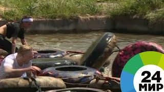 Рвы, стены и водные преграды: в Алматы прошла гонка на выносливость - МИР 24