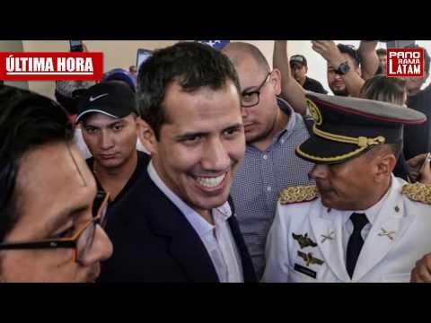 GUAIDÓ CON COALICION MILITAR REGRESA A VENEZUELA - MADURO SIN SALIDA