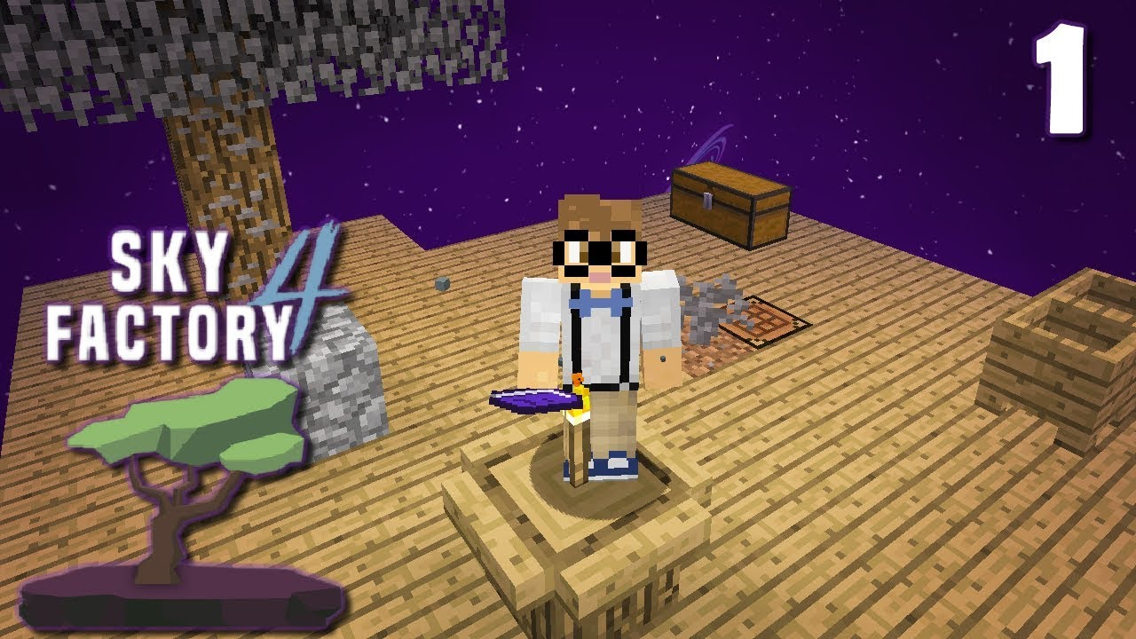 Sky Factory Four - The SkyFactorying! | SkyFactory 4 | 1