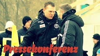 Uwe Koschinat nach der Niederlage in Chemnitz