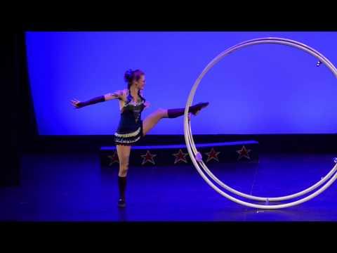 Kelly Jo Stull - German Wheel Act 'Rolling Dancer'