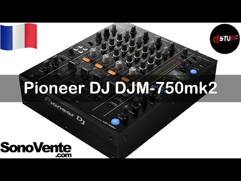 Demo Pioneer Dj Djm 750mk2 For English See Description Youtube
