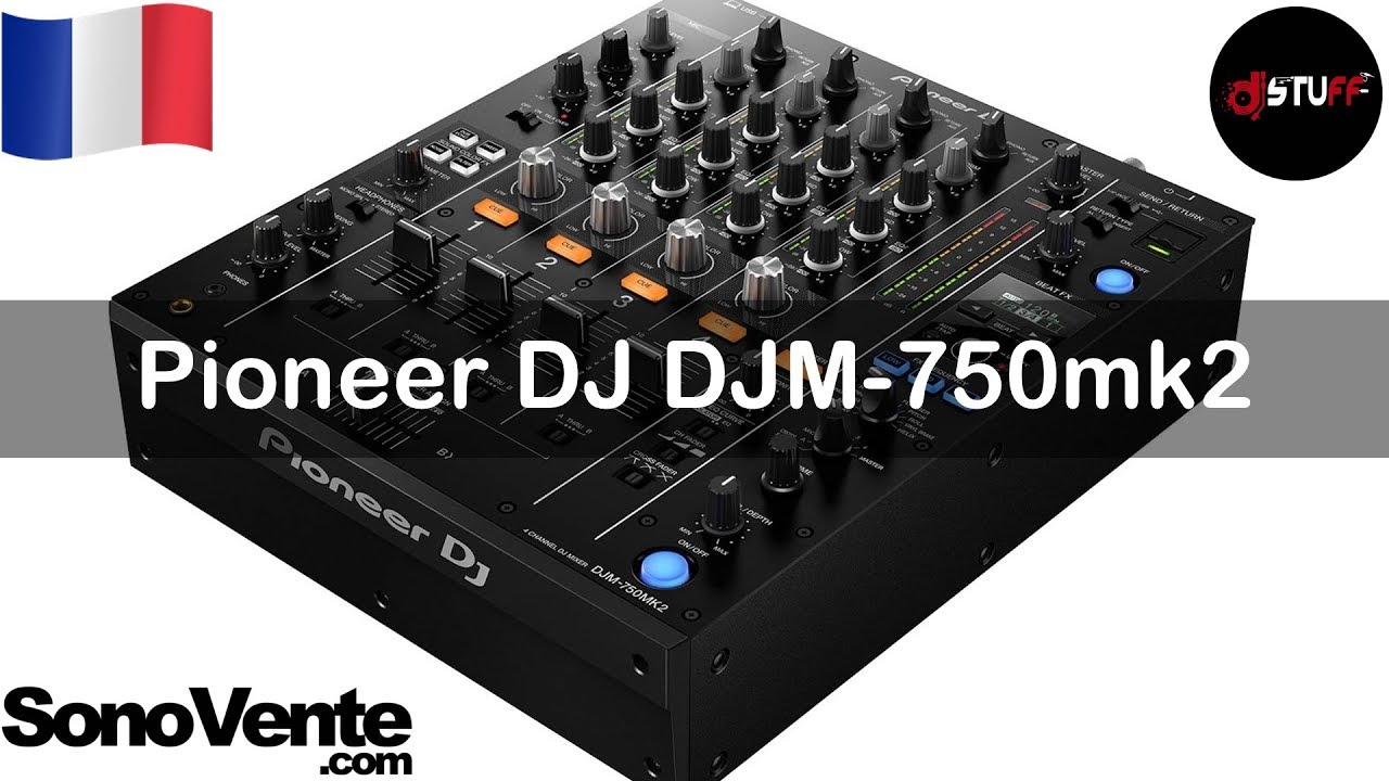 Demo Pioneer Dj Djm 750mk2 For English See Description Youtube