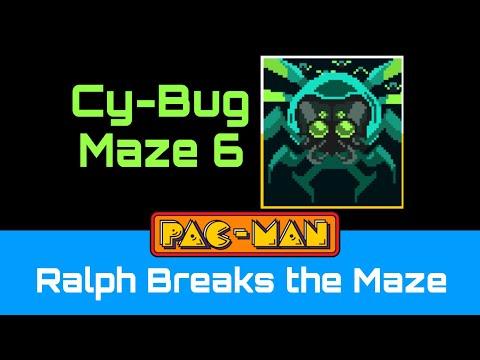PAC-MAN: Ralph Breaks The Maze (Maze 6 - Cy-Bug)