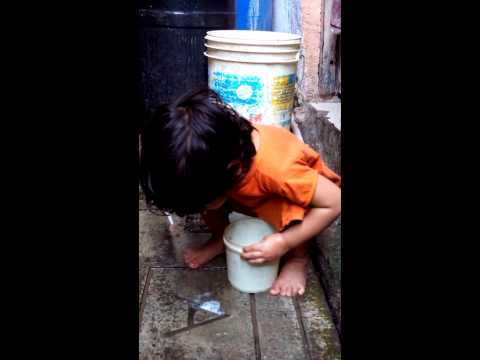 Slum girl life