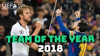 UEFA.com fans' Team of the Year - Messi v Kane