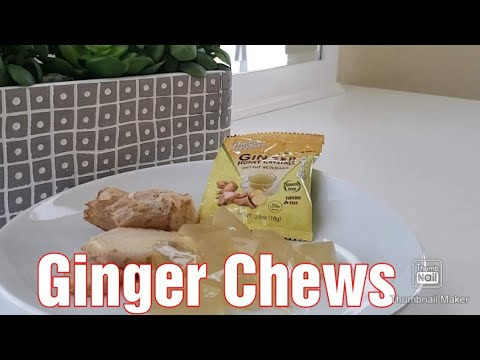 Homemade Ginger Chews
